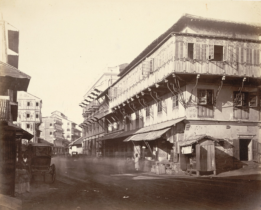 Street in Bombay Fort. 9378
